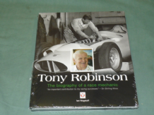 TONY ROBINSON THE BIOGRAPHY OF A RACE MECHANIC. (Wagstaff 2012)